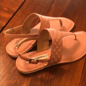 Karl Lagerfeld Shoes - Karl Langerfeld Paris sandals